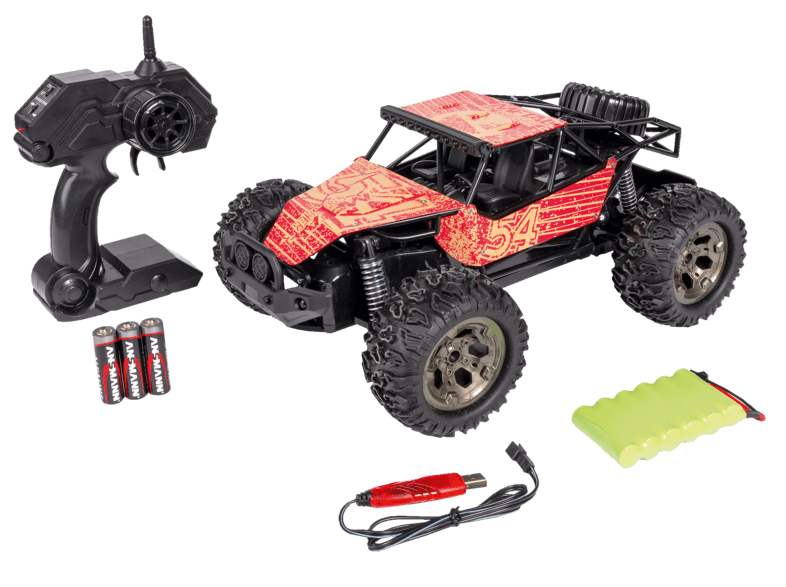 Bild zu R/C Spielzeugauto Carson Metal Crusher 1:12, 2.4G 100% RTR für 39,99€ (Vergleich: 50,98€)