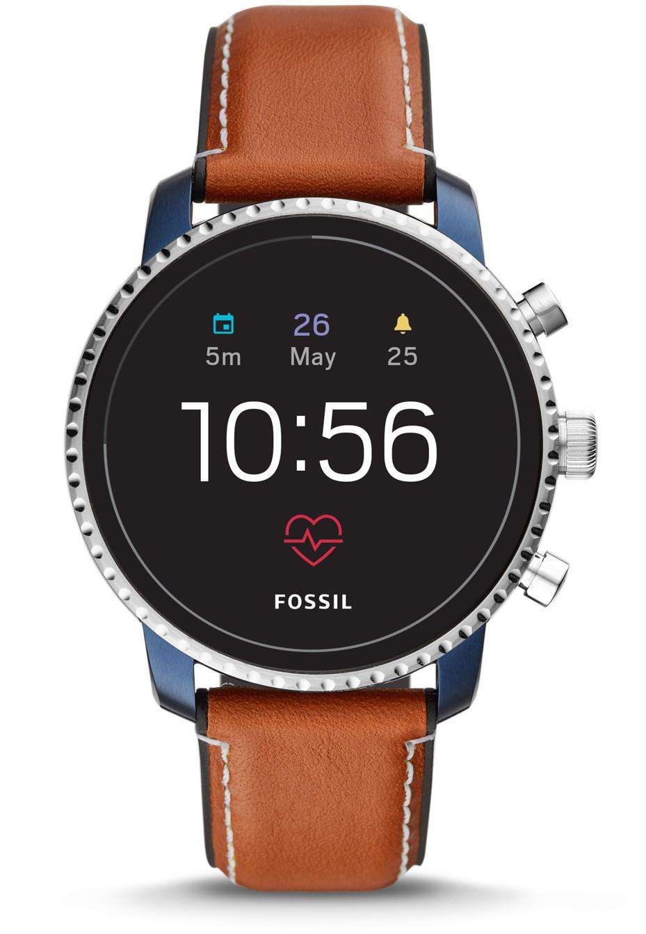 Bild zu Smartwatch Fossil Q Explorist HR FTW4016 für 131,82€ (Vergleich: 169€)