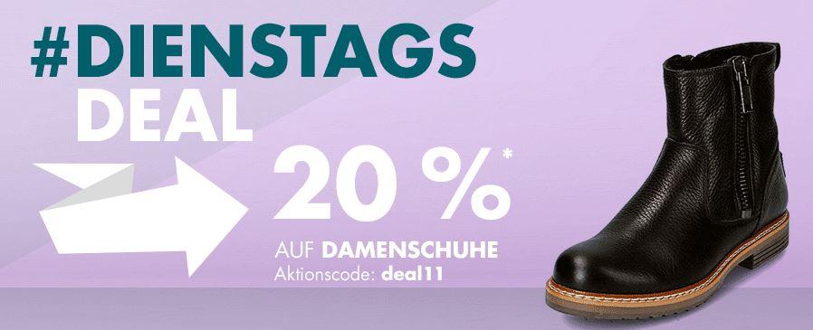 Bild zu Galeria Dienstags Deal: 20% Rabatt auf Damenschuhe