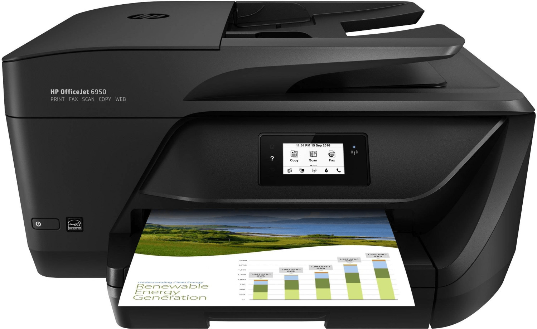 Bild zu Multifunktionsgerät HP OfficeJet 6950 eAiO für 59,99€ (Vergleich: 77,59€)