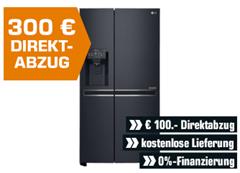 Bild zu LG GSJ961MTAZ, Side-by-Side, A++, 1790 mm hoch, 912 mm breit, Matt Schwarz für 1.599€ (VG: 1.949€)
