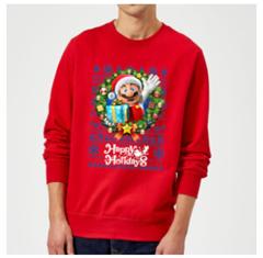Bild zu Offizielle Nintendo Weihnachtspullover für je 19,99€ (Kinder 15,99€) inklusive Versand + gratis Print