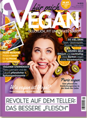 """Bild zu 8 Ausgaben der Zeitschrift """"Vegan"""" für 9,95€"""