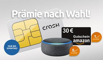 Bild zu [nur noch heute] Telekom Netz mit LTE inkl. 500MB Daten + 100 Freiminuten inkl. 30€ Amazon.de Gutschein für 2,99€/Monat