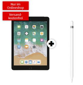 Bild zu Apple iPad 32GB 10,2″ (2019) mit Wifi + LTE & Apple Pencil für 49€ mit 15LTE Datenflat im Telekomnetz für 19,99€/Monat