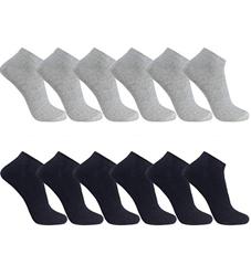 Bild zu 12er FALARY Sneaker Socken für Damen und Herren ab 6,49€