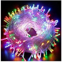 Bild zu VINGO LED Lichterketten in versch. Farben und Größen (100-600 LEDs + 10-60m) ab 5,39€ dank 55% Rabatt