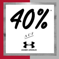 Bild zu Mysportswear: ganze 40% Rabatt auf alle Under Amour Artikel