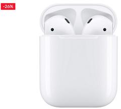 Bild zu Apple »AirPods with Charging Case (2019)« In-Ear-Kopfhörer (Bluetooth) für 122,72€