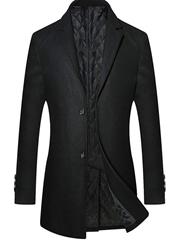 Bild zu YOUTHUP Wintermantel Herren Slim Fit für 53,89€