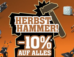 """Bild zu Fuxtec: 10% Herbst """"Hammer-Rabatt"""" auf Alles"""