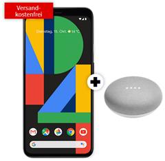 Bild zu GOOGLE Pixel 4 & Google Home Mini für 49€ mit 8GB LTE Datenflat, SMS und Sprachflat im Telekom-Netz für 31,99€/Monat