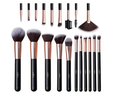 Bild zu Anjou 20-teiliges Make Up Pinsel Set für 9,99€