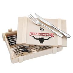 Bild zu WMF Steakbesteck 12-tlg. in Holzkiste für 24,99€