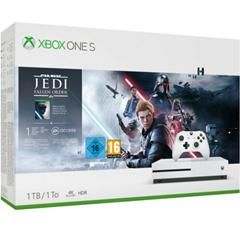 Bild zu MICROSOFT Xbox One S 1TB – Star Wars Jedi: Fallen Order™ Bundle für 159,79€