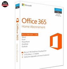 Bild zu [Super] Microsoft Microsoft Office 365 Home Mac/Windows (bis zu 5 Benutzer) für 44,95€ (VG: 61,99€)