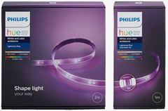 Bild zu [nur heute] Philips Hue LightStrip Plus 2 m Basis + 1m Erweiterung für 53,28€ (VG: 69€)