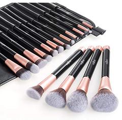 Bild zu Anjou Make-up Pinselset (16 Kosmetikpinsel + Etui) für 12,63€