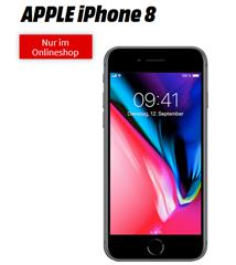 Bild zu iPhone 8 für 1€ mit 6GB LTE Datenflat und Sprachflat im Telekom Netz für 26,99€/Monat