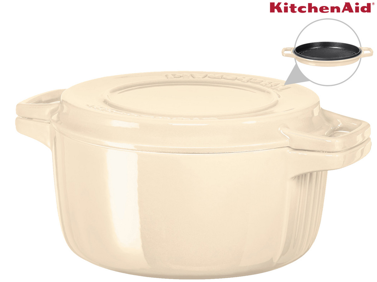 Bild zu 28 cm KitchenAid Gusseisenbräter für 88,90€ (Vergleich: 99€)