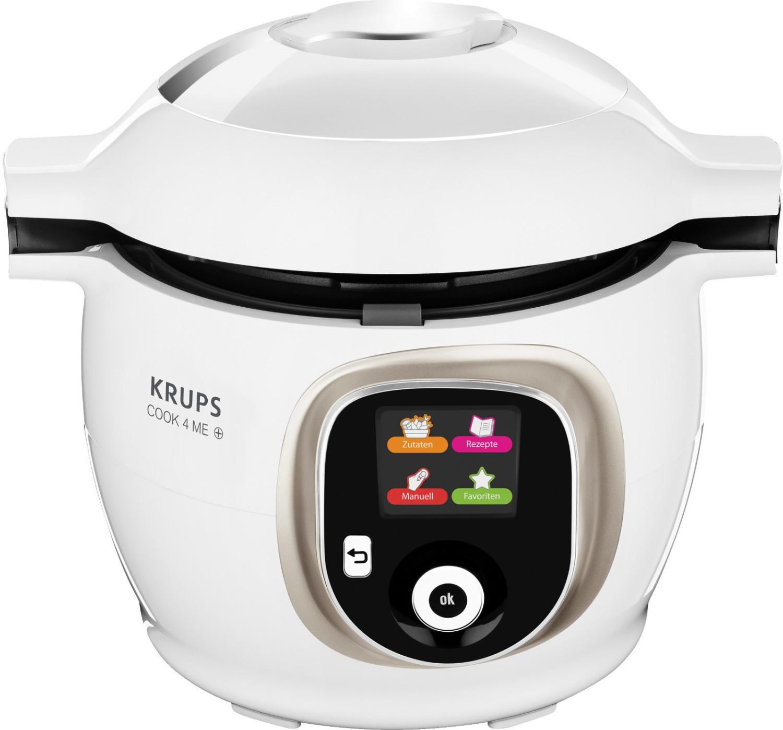 Bild zu Multifunktionskochtopf Krups CZ 7101 Cook4Me+ für 143,91€ (Vergleich: 163,90€)