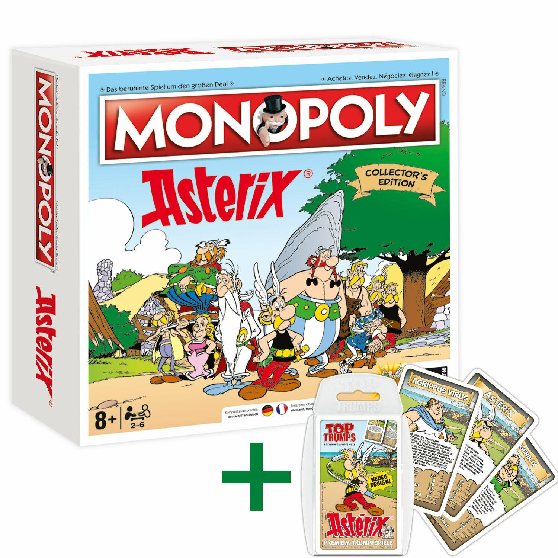 Bild zu Monopoly Asterix und Top Trumps Quartett Asterix für 42,46€ (Vergleich: 52,95€)