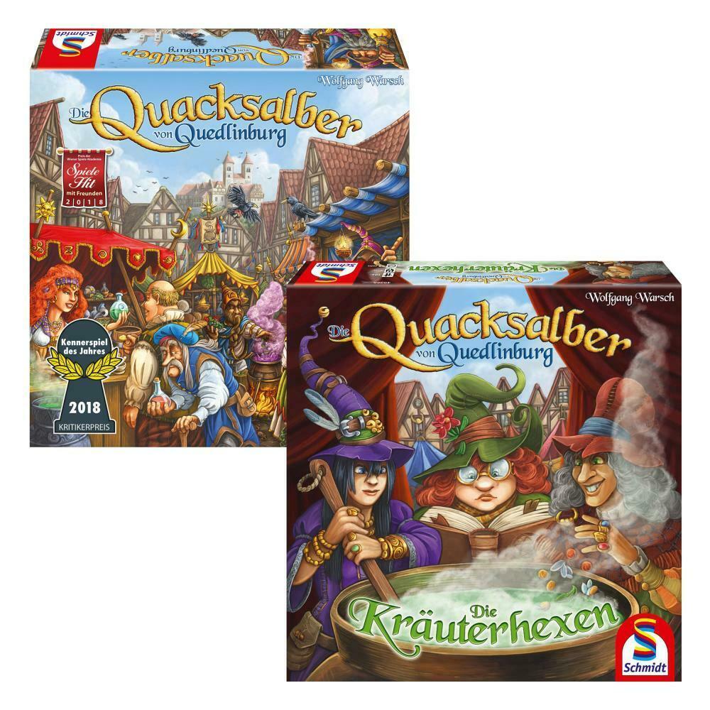 Bild zu Schmidt Spiele Die Quacksalber von Quedlinburg und Erweiterung Die Kräuterhexen für 39,90€ (Vergleich: 51,98€)