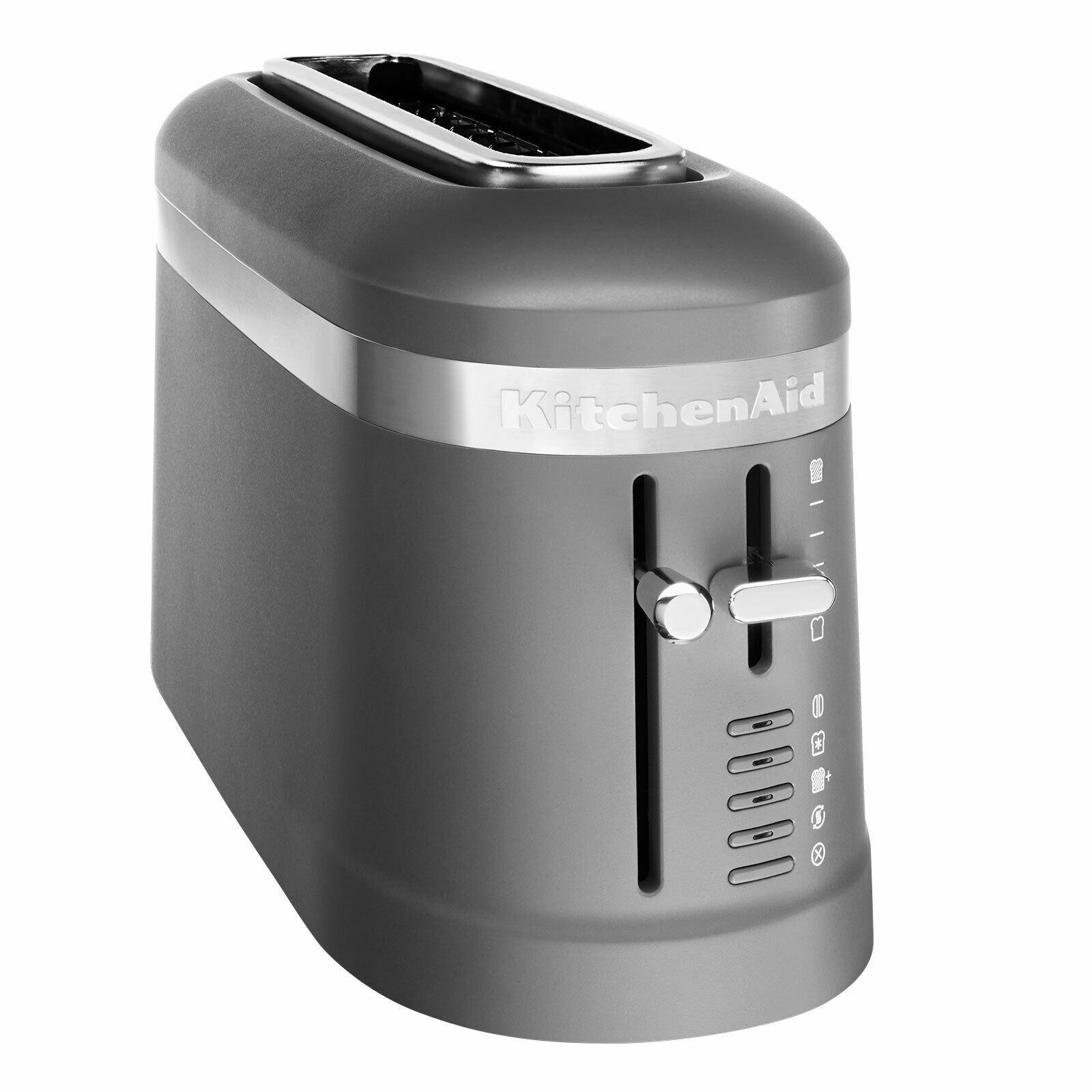 Bild zu [B-Ware] Langschlitztoaster KitchenAid 5KMT3115 für 44,91€ (Vergleich: 89,39€)