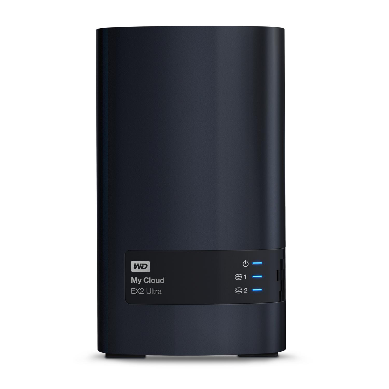Bild zu 2-Bay NAS-System WD My Cloud EX2 Ultra 16TB für 466€ (Vergleich: 548,99€)