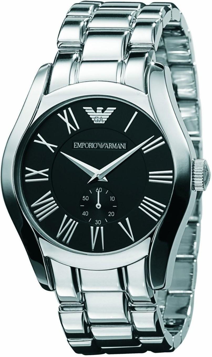 Bild zu Herren Edelstahl-Armbanduhr Emporio Armani AR0680 für 95,90€ (Vergleich: 127€)