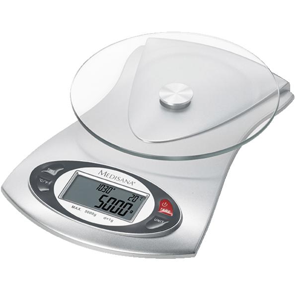 Bild zu Küchenwaage Medisana KS 220 für 11,99€ (Vergleich: 15,98€)