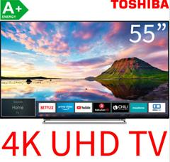 Bild zu Toshiba 55U5863DA LED-Fernseher (140 cm/55 Zoll, 4K Ultra HD, Smart-TV, Dolby Vision HDR, HDR10, HLG) für 388€ (VG: 459,94€)