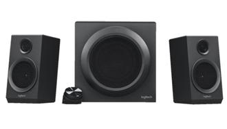 Bild zu Logitech Z333 Multimedia Speakers – 2.1 Lautsprecher für Home Entertainment (mit 80 Watt und Subwoofer) für 29€