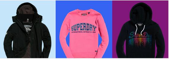 Bild zu eBay: 20% Extra Rabatt auf bereits reduzierte Superdry Artikel