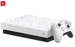 Bild zu Microsoft Xbox One X 1TB – Hyperspace Special Edition für 299€ (VG: 339€)