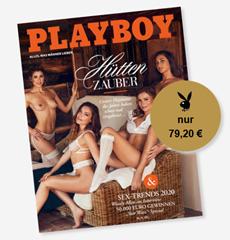 """Bild zu 12 Ausgaben der Zeitschrift """"Playboy"""" für 79,20€ inkl. 60€ Verrechnungsscheck"""