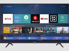 Bild zu HISENSE H 55 B 7100 LED TV (Flat, 55 Zoll/138 cm, UHD 4K, SMART TV, VIDAA 3.0) für 333€ bei Selbstabholung