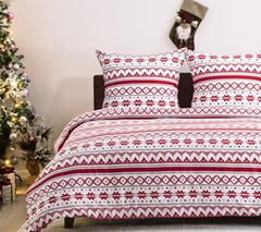 Bild zu Amazon: 50% Rabatt auf Bedsure Weihnachtsbettwäsche