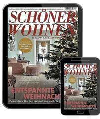 Bild zu SCHÖNER WOHNEN Digital E-Paper im Prämien-Abo ab 44,08€ + bis zu 45€ Gutschein