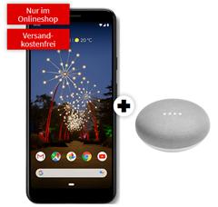 Bild zu GOOGLE Pixel 3a & Google Home Mini für 49€ mit 4GB LTE Datenflat + Sprachflat im Vodafone Netz für 11,99€/Monat