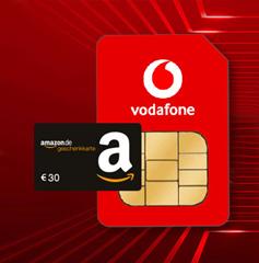 Bild zu [.nur noch heute] Vodafone CallYa Karte Allnet Flat sowie 10GB LTE Datenflat für 20€/Monat buchen + 30€ BestChoice Gutschein erhalten – jederzeit kündbar