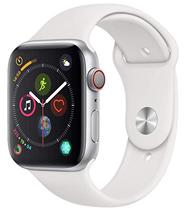 Bild zu Apple Watch Series 4 GPS + Cellular 44mm silber Aluminium für 400,12€ (VG: 472,98€)