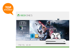 Bild zu Microsoft Xbox One S Konsole (1TB) inkl. Star Wars Jedi: Fallen Order für 153,99€ (VG: 189€)