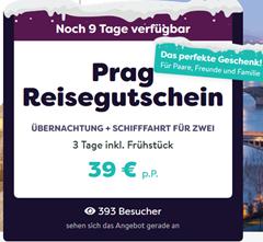 Bild zu 2 Übernachtungen in Prag inkl. Frühstück und Schifffahrt für nur 34 € pro Person