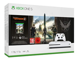 Bild zu Microsoft Xbox One S 1TB + Tom Clancy's The Division 2 für 166,82€ (VG: 199€)