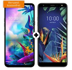Bild zu LG G8X Thinq Dual SIM & LG K40 für 49€ im o2 Tarif mit 6GB LTE Datenflat sowie Sprach- und SMS Flat für 24,99€/Monat