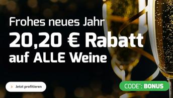 Bild zu Weinvorteil: 20,20€ Rabatt ab 50€ Bestellwert
