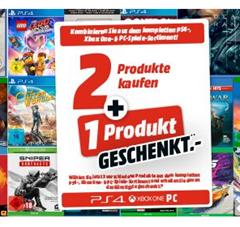 Bild zu MediaMarkt: 3 Spiele kaufen – Nur 2 Spiele zahlen