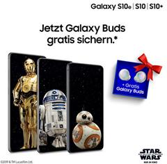 Bild zu Gratis Samsung GalaxyBuds (VG: 114,88€) beim Kauf von Samsung S10, Note10, TabS6 (auch bei Verträgen)
