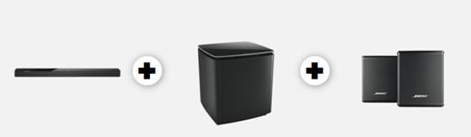 Bild zu Bose Soundbar 700 mit Bass Module + Surround Lautsprecher für 1.249€ (VG: 1.496€)